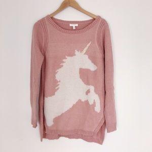 LC LAUREN CONRAD Unicorn Sweater